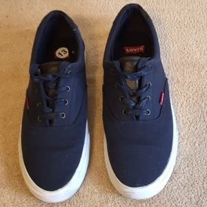 Levi's Skate Shoes ( Navy Blue ) size 13 Men